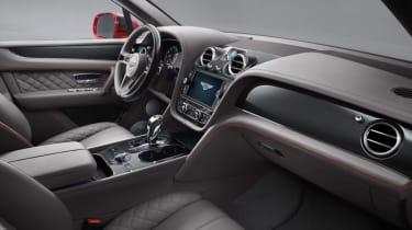 Bentley Bentayga V8 petrol announced - interior