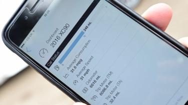 Volvo XC90 long term - iphone app