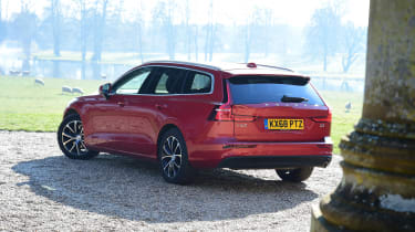 Volvo V60 long termer - third report rear