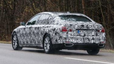 BMW 7 Series 2015 spyshots rear side