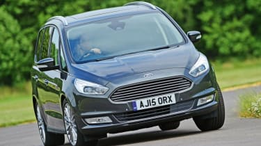 Used Ford Galaxy - front cornering