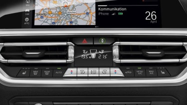 Leaked BMW 3 Series - centre console