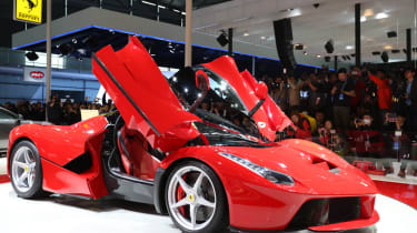The LaFerrari will be comepting with the like of the Mclaren P1 and the Porsche 918.
