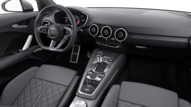 Audi TTS 2014 - cabin