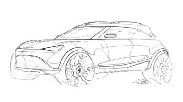Smart SUV - sketch