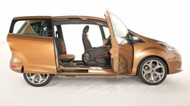 Ford B-MAX doors open