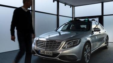 Mercedes Co-operative car - static 3/4