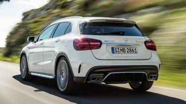 Mercedes-AMG GLA 45 - rear