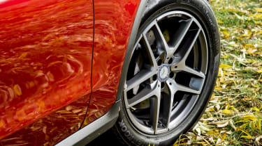 Mercedes GLC 250d Coupe - wheel details