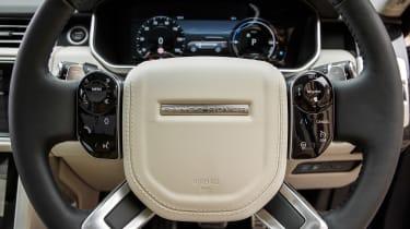 Range Rover PHEV - steering wheel