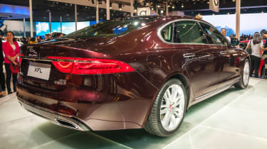 Jaguar XF long wheelbase - Beijing Show - rear/side