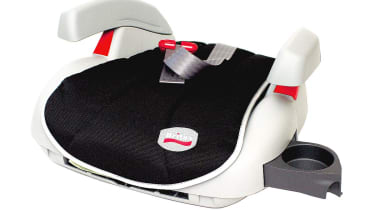 Booster cushions: Britax Boost £25  Not enough cup-holders in your car? Then add a couple more with the Sprint from UK firm Britax. The armrests move and the cup-holders fold out from the corners. An adjustable strap secures