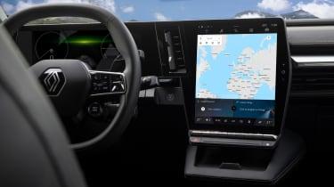 Renault Megane E-Tech Electric SUV - infotainment