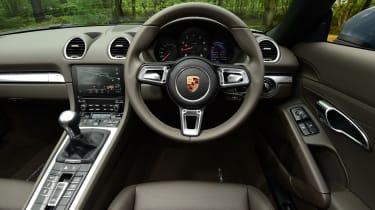 Porsche 718 Boxster 2016 - interior