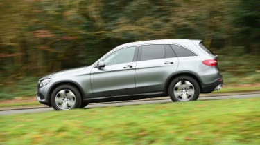 Mercedes GLC long-term third report - side action
