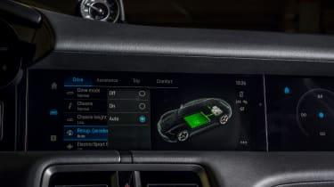 Porsche Taycan RWD - infotainment