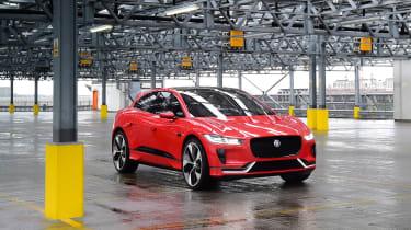 Jaguar I-Pace prototype 2017 - front quarter