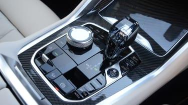 BMW X6 - gearshift
