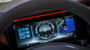 Mercedes E-Class - dials