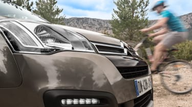 Citroen Berlingo Multispace 2015 nose