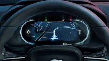 Volvo C40 Recharge - dials