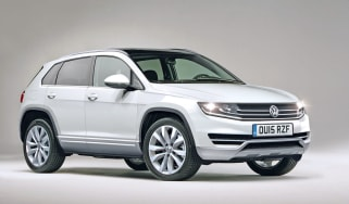 VW Tiguan 2015 front