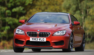 BMW M6 Gran Coupe 2013 front action