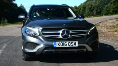 Long-term test review: Mercedes GLC - first report front cornering