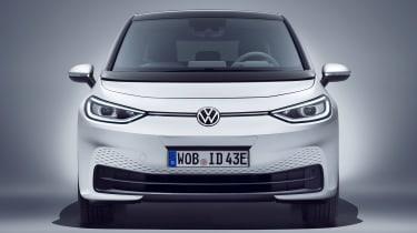 Volkswagen ID.3 - white full front