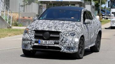 Mercedes GLE - spyshot 2