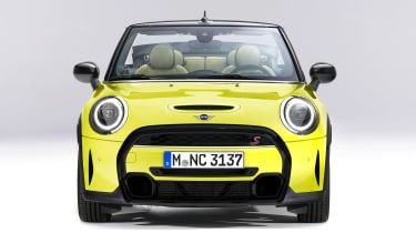 MINI Convertible facelift - full front