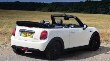 Mini Cooper Convertible Rear Still