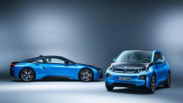 BMW i8 and BMW i3 studio