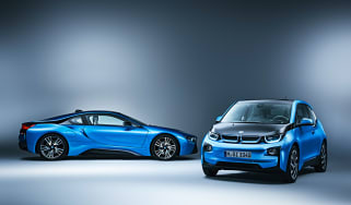 BMW i8 and BMW i3 studio