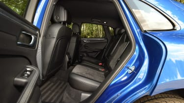 Porsche Macan - rear seats