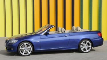 BMW 3 Series Convertible profile