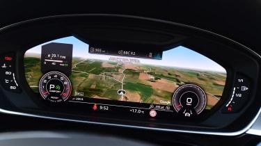 Audi A8 55 TFSI - Virtual Cockpit