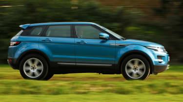 Range Rover Evoque 2WD panning