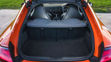 Audi TT Coupe - boot