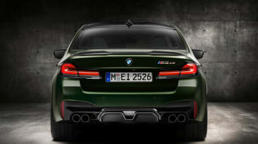 BMW M5 CS - studio full rear