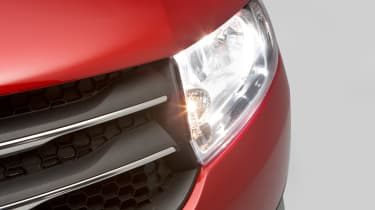 Used Dacia Sandero - front light detail