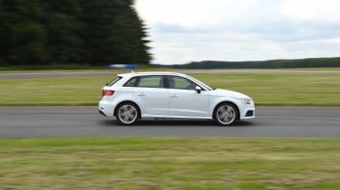 Audi A3 vs Volvo V40 vs Volkswagen Golf - A3 side