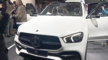 Mercedes GLE - Paris - Front