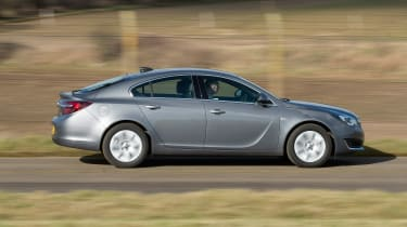 Vauxhall Insignia - side