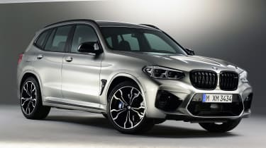 BMW X3M - front static
