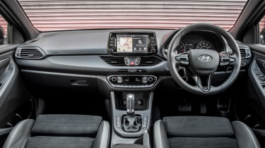Hyundai i30 N-Line - interior