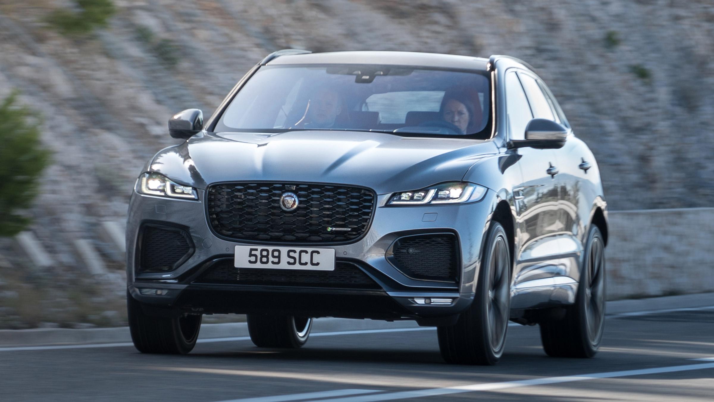 New Jaguar F-Pace facelift arrives with plug-in hybrid ...