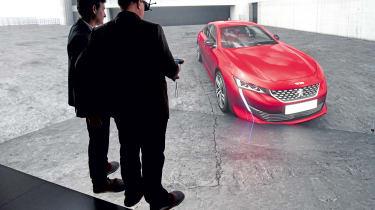 Peugeot 508 - virtual reality