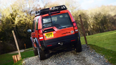 Land Rover Discovery Mk3 - rear action