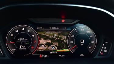 Audi Q3 - dials/sat-nav